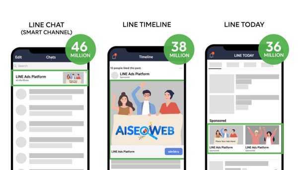 Reklama na Line