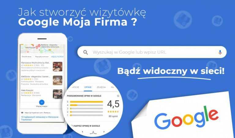 Wizytowki w google